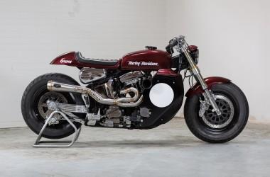 Harley Softail Cafe Racer
