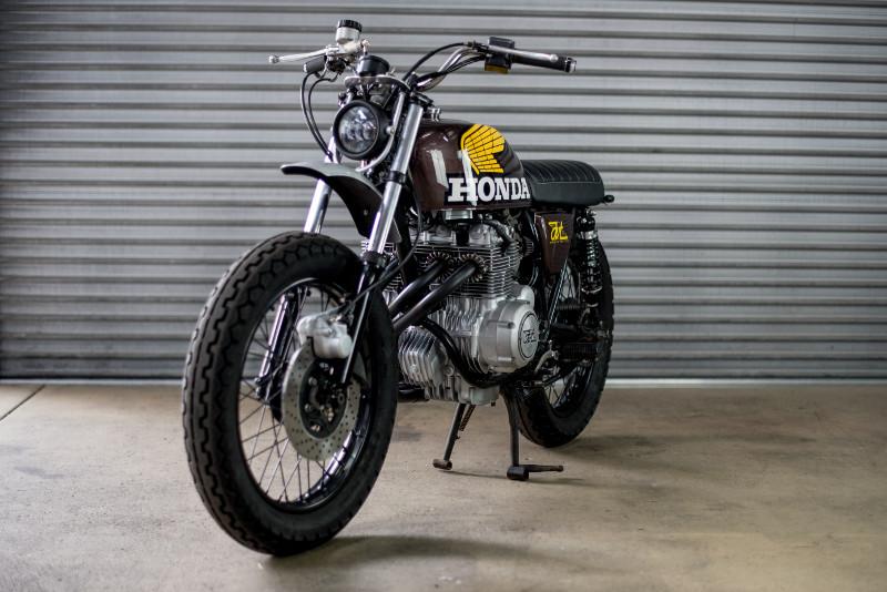 Honda CB400F Scrambler