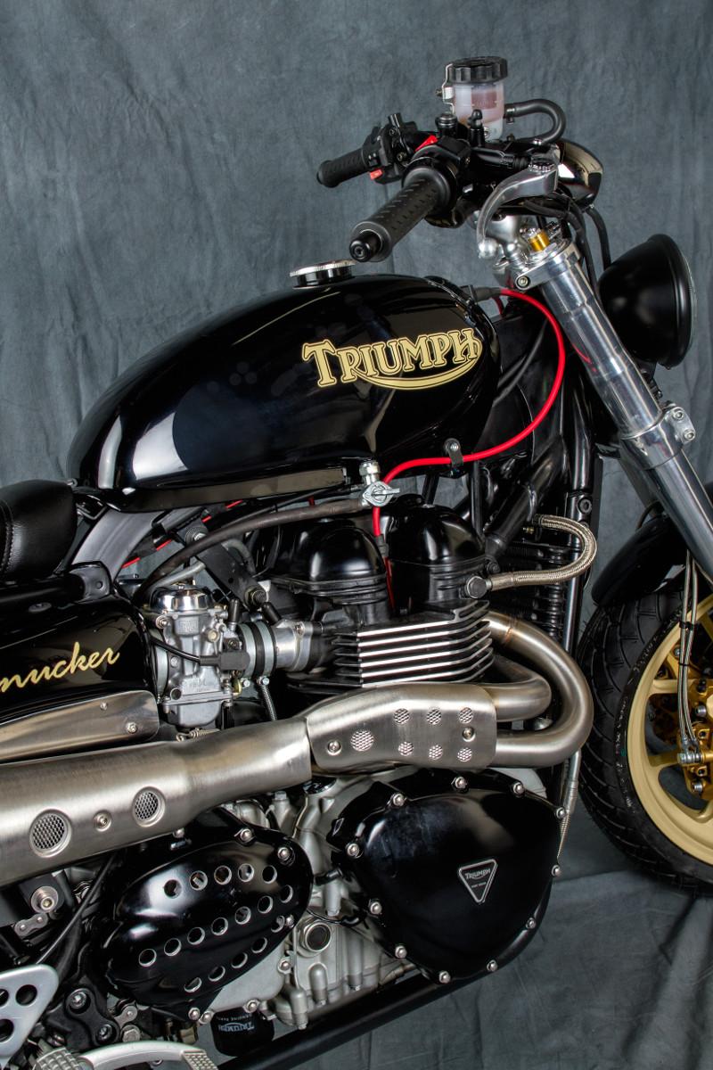 Triumph Thruxton Street Tracker
