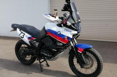 BMW F650 GS Funduro Rally Bike