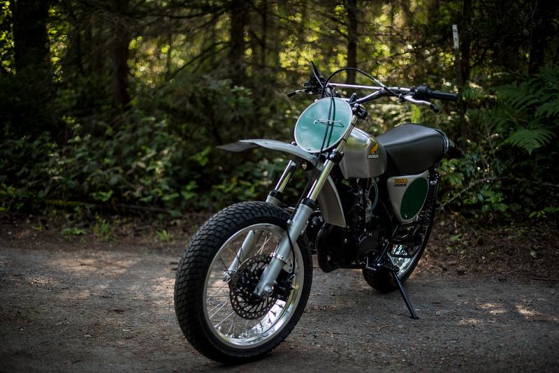 Honda MT250 Elsinore Supermoto