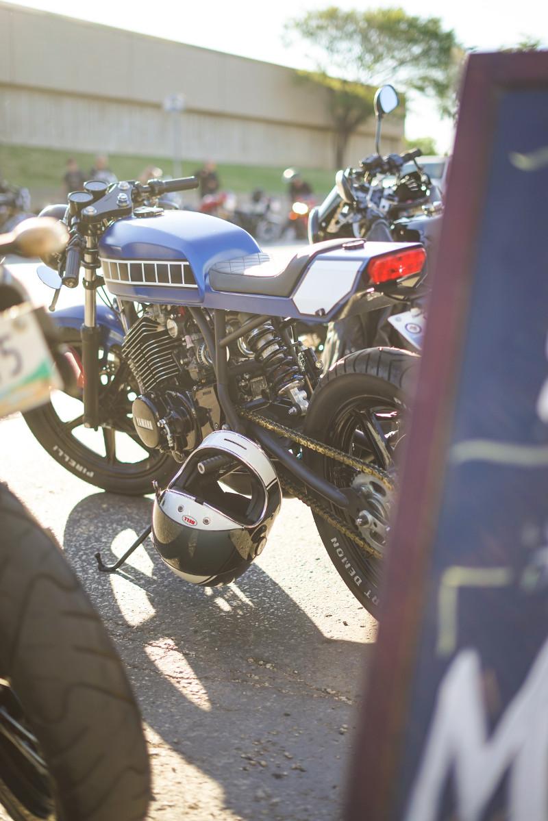 Yamaha RD400 Cafe Racer