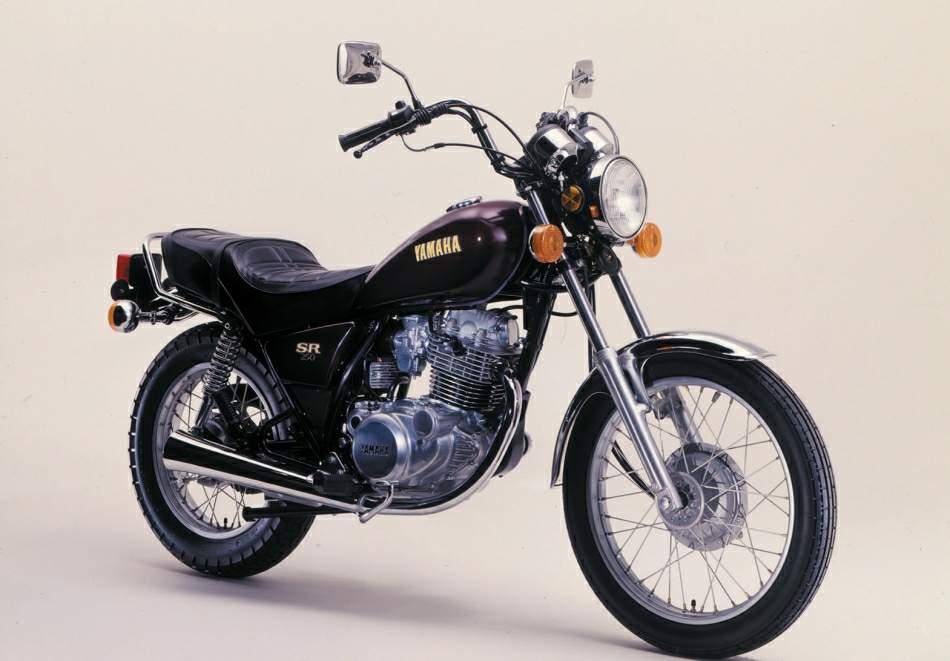 1982 Yamaha SR250