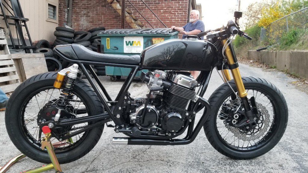 Honda CB750 836 Cafe Racer