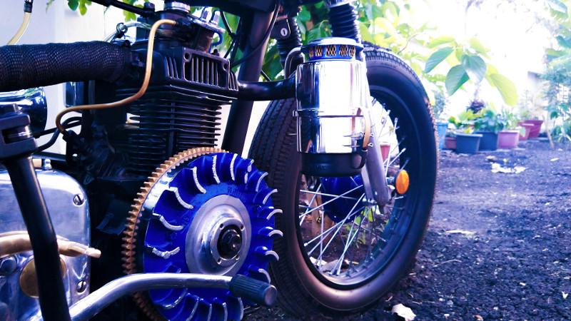 Royal Enfield Diesel Bullet Custom