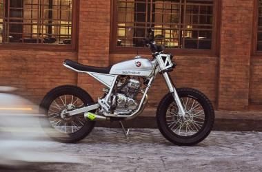 Yamaha Scorpio Z Street Tracker