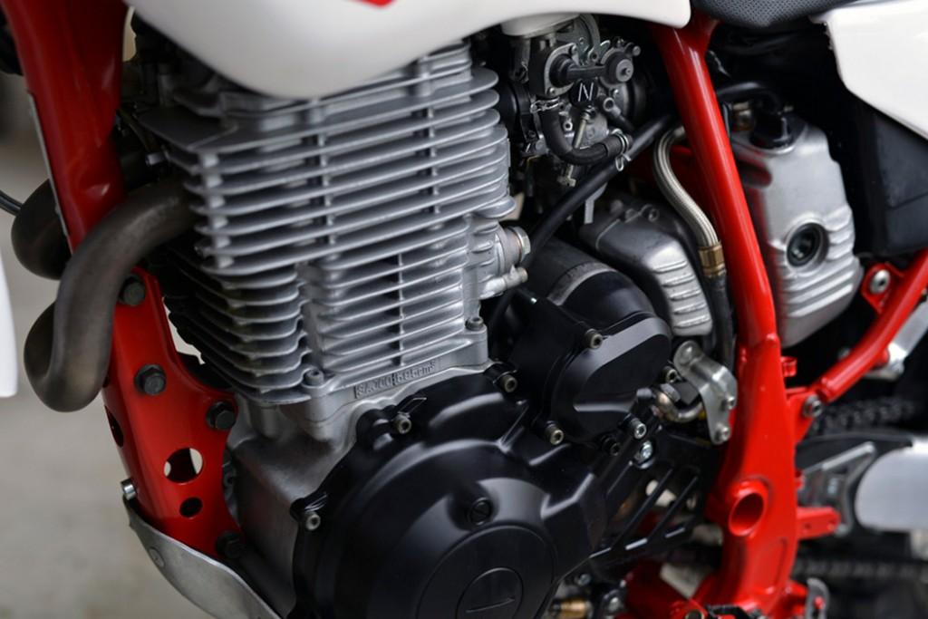 Yamaha TT600R Scrambler
