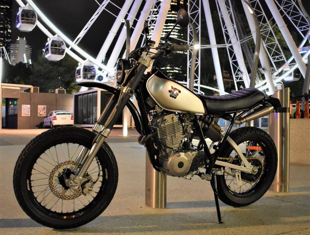 Yamaha XT550 Street Tracker