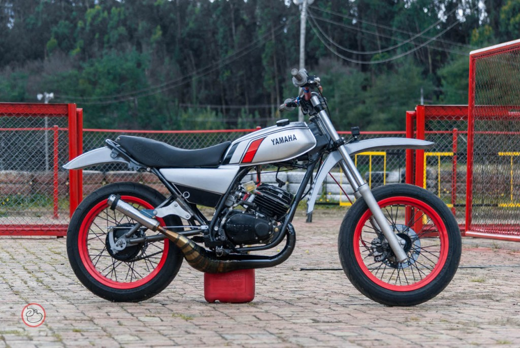 Yamaha DT175 Motard
