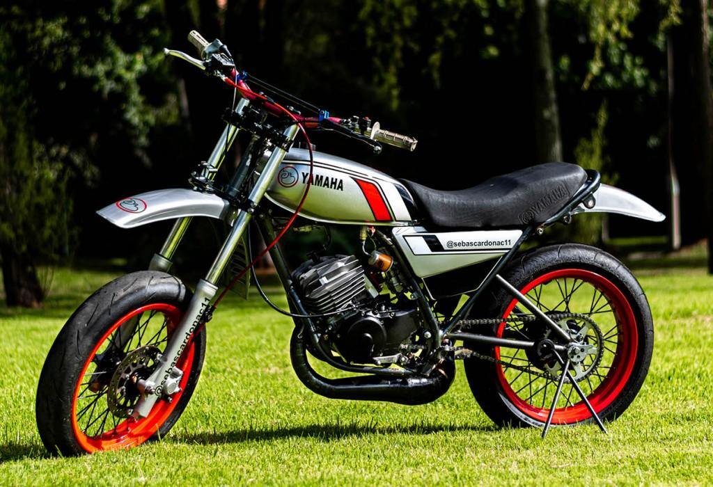 Yamaha DT175 Supermoto