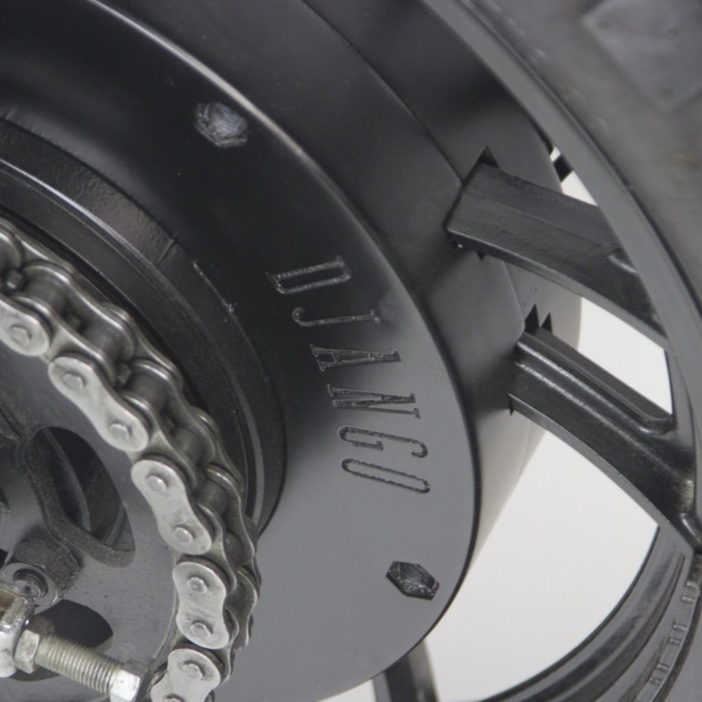 Yamaha TR1 Scrambler Tracker