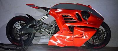 "Keeway RKV200 ""Dragon Rojo"""