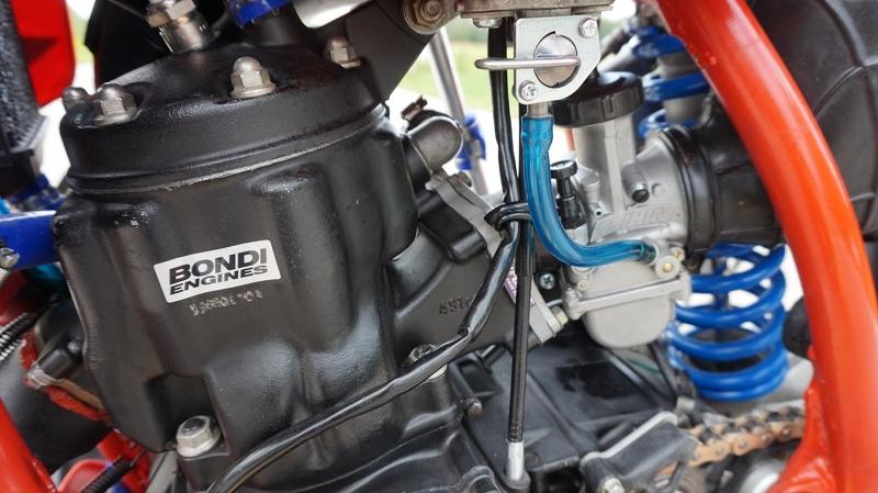 Honda CR500 Supermoto