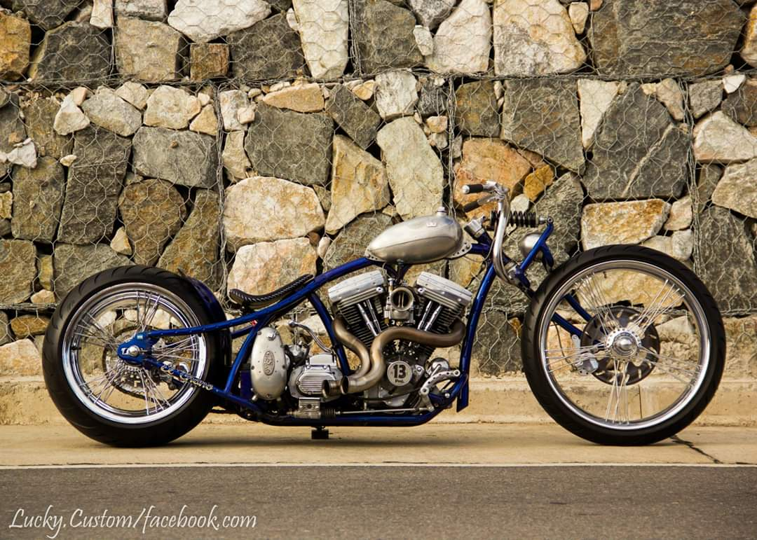 "Harley Softail 1340 ""El Chano"""