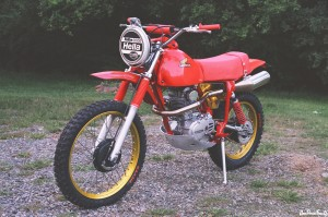 Honda XL250 Rubicon