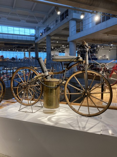 1867 Roper Steam Velocipede