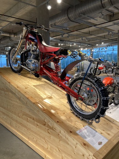 1980s Harley-Davidson XR750 Nitro Hillclimber