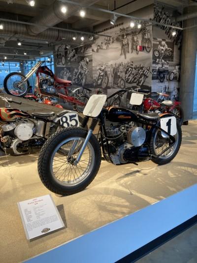 1957 Harley-Davidson KR