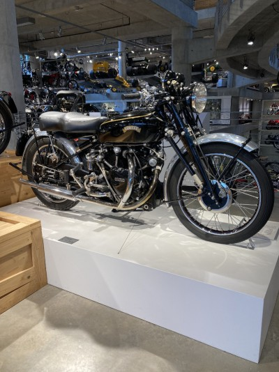 1951 Vincent Black Shadow