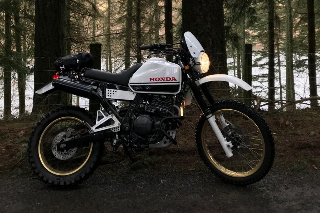 Honda NX650 Desert Sled