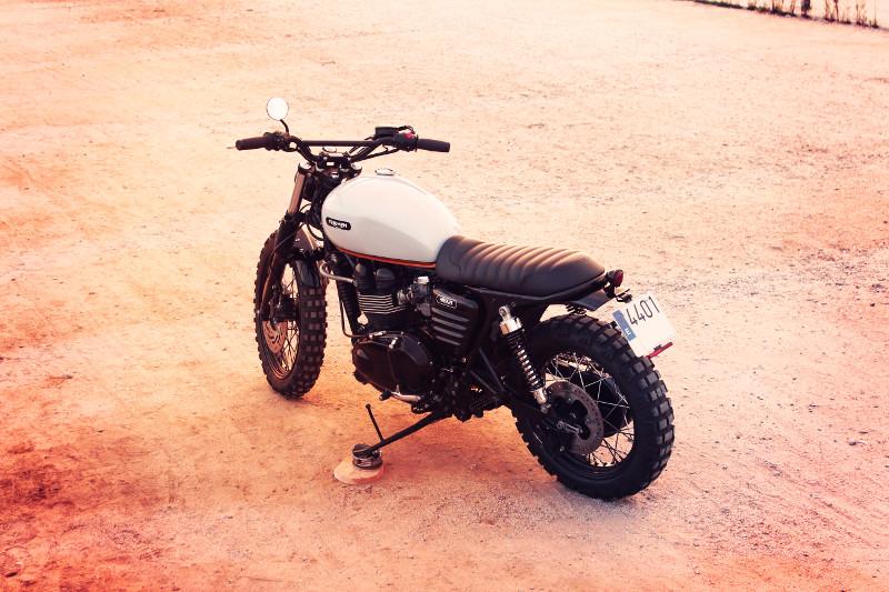 Triumph T100 Bonneville Scrambler