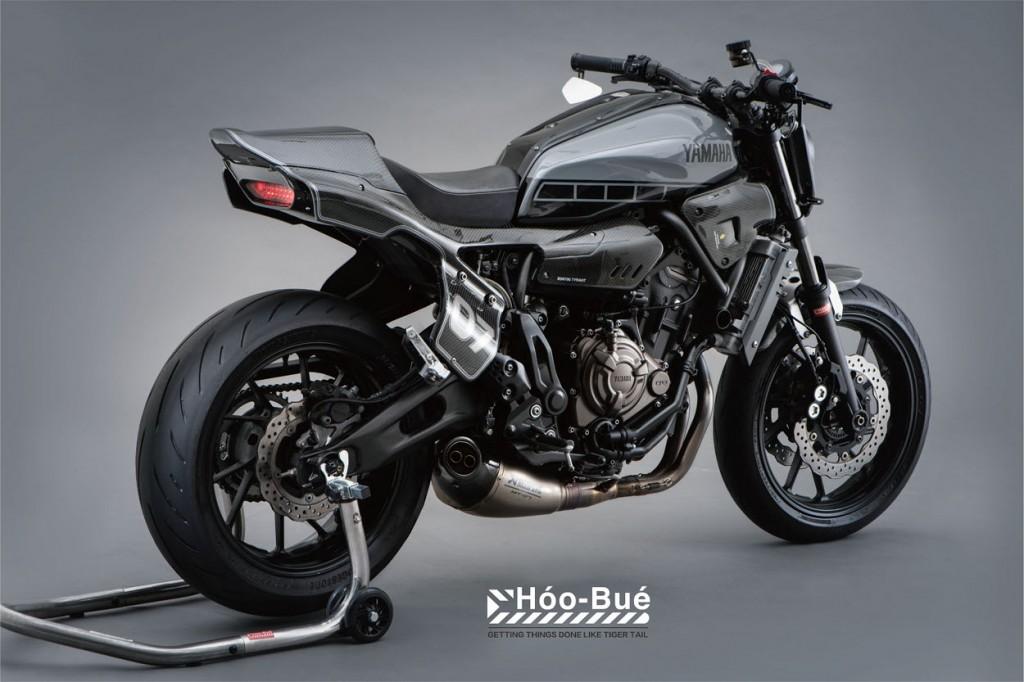 Yamaha XSR700 Street Tracker