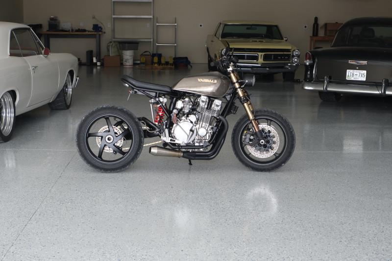 HOnda Nighthawk 750 custom