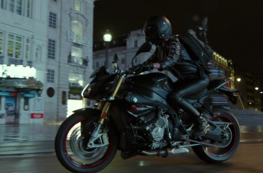 Olga Kurylenko Motorcycle
