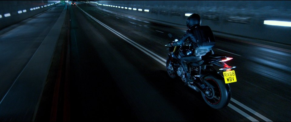 The Courier Movie Motorcycle