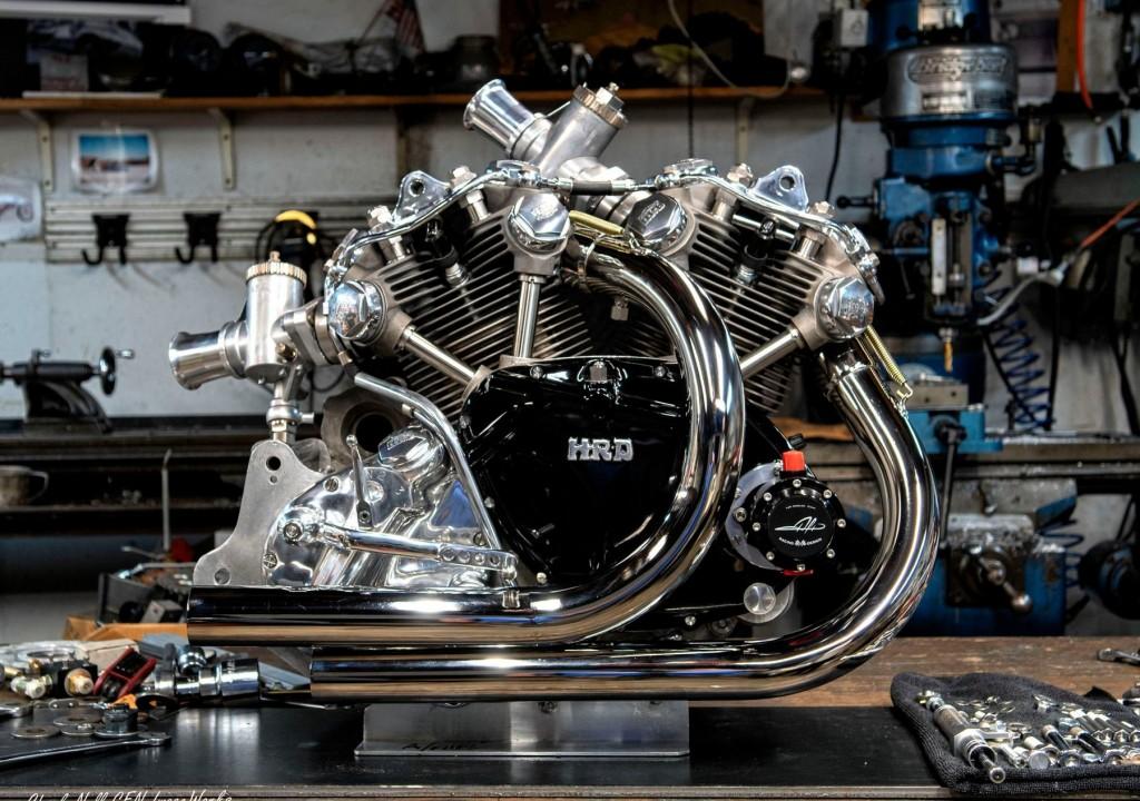 Vincent Land Speed Racing Bike