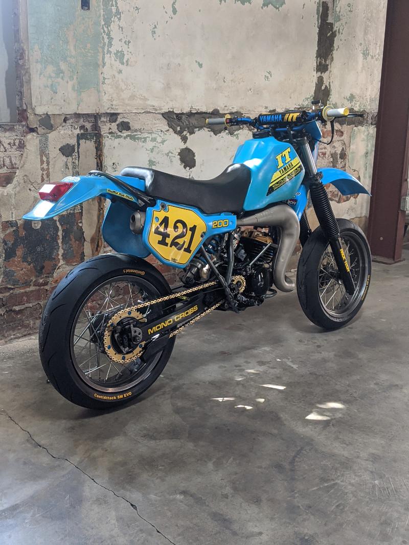Yamaha IT200 Supermoto