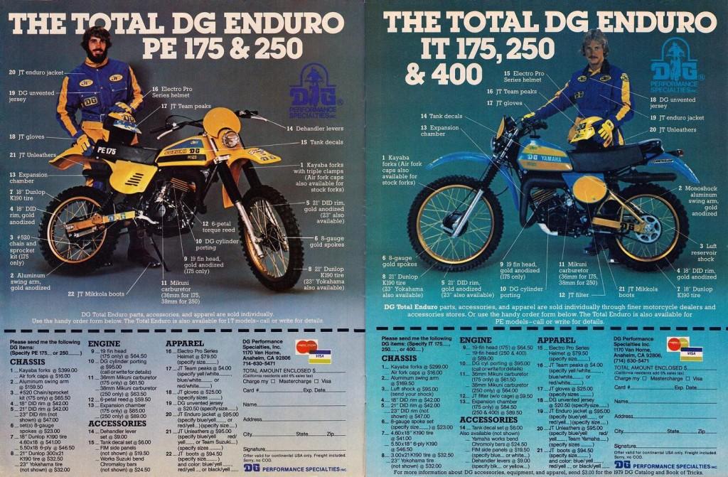 Yamaha IT200 Twins