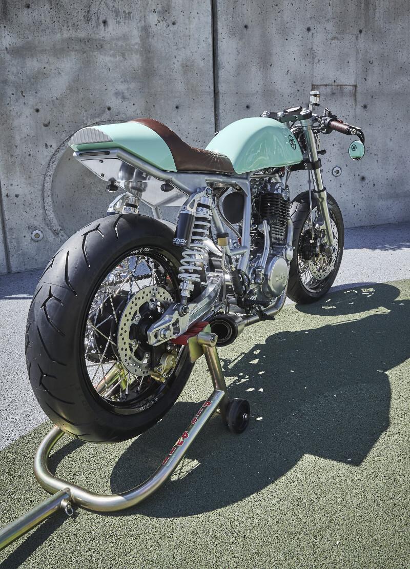 Yamaha SR500 Cafe Racer