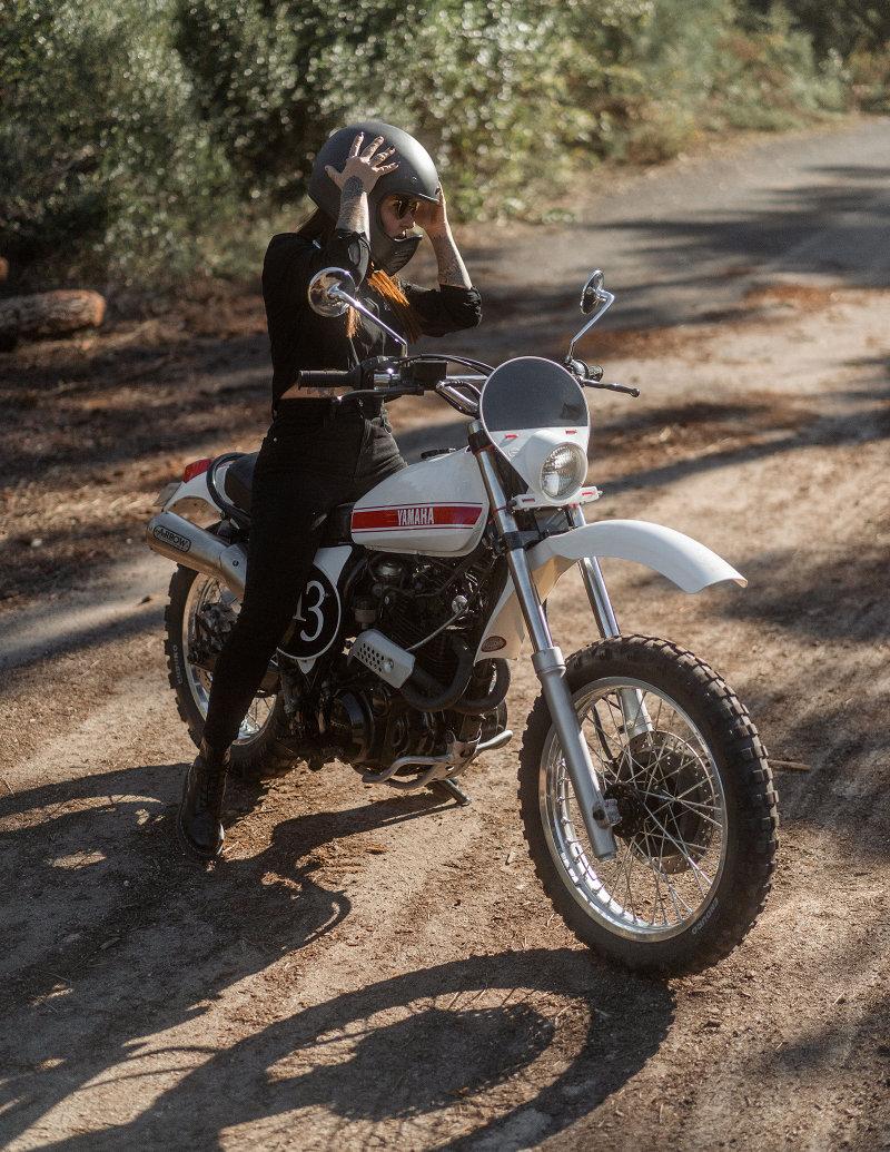 Yamaha XT600 Scrambler
