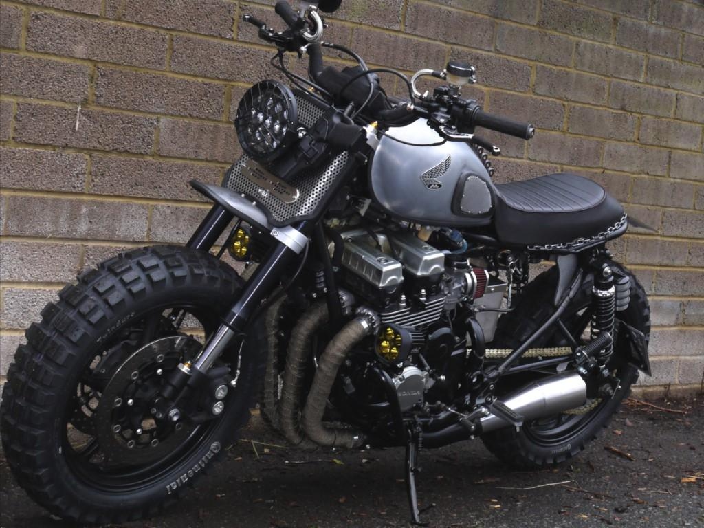 Honda CB750 Walking Dead Scrambler