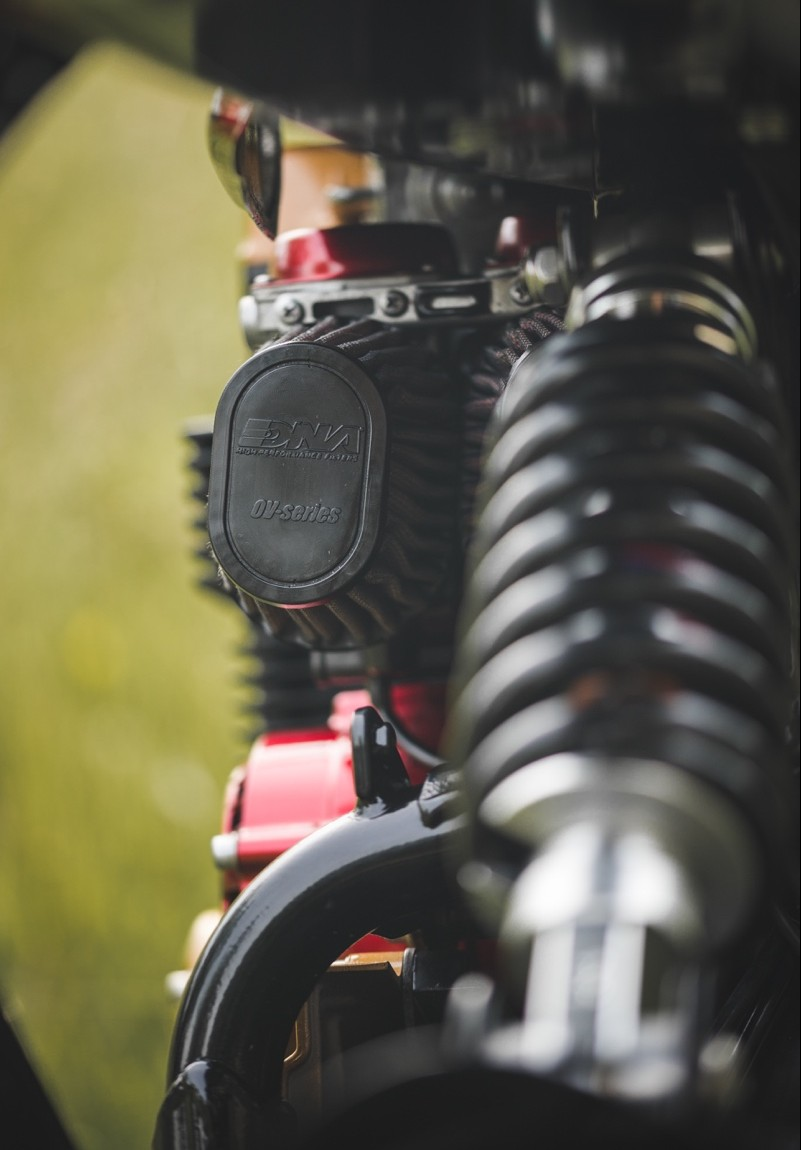 Nighthawk 750 Custom