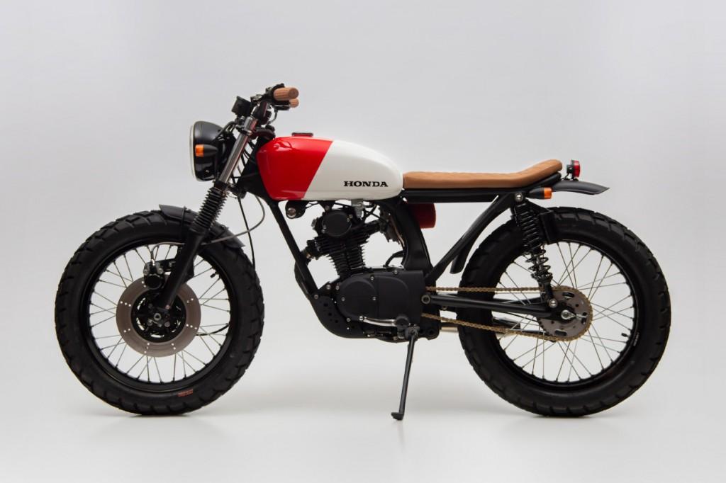 Honda CB125 Scrambler