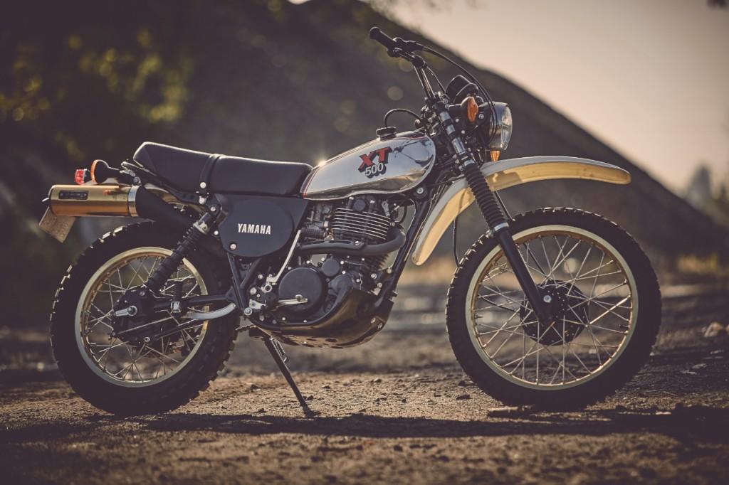Yamaha XT500 Restoration