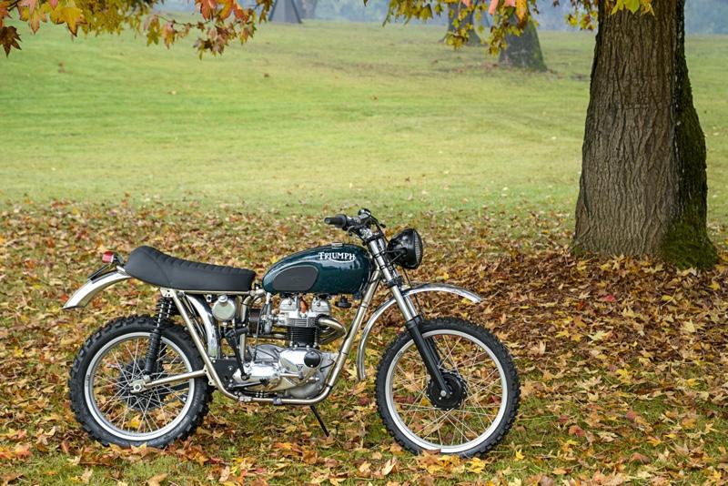 Triumph Bonneville Motocross