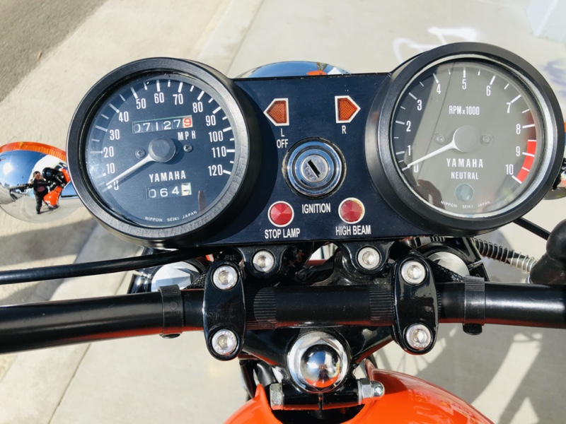Yamaha RD350 Resto