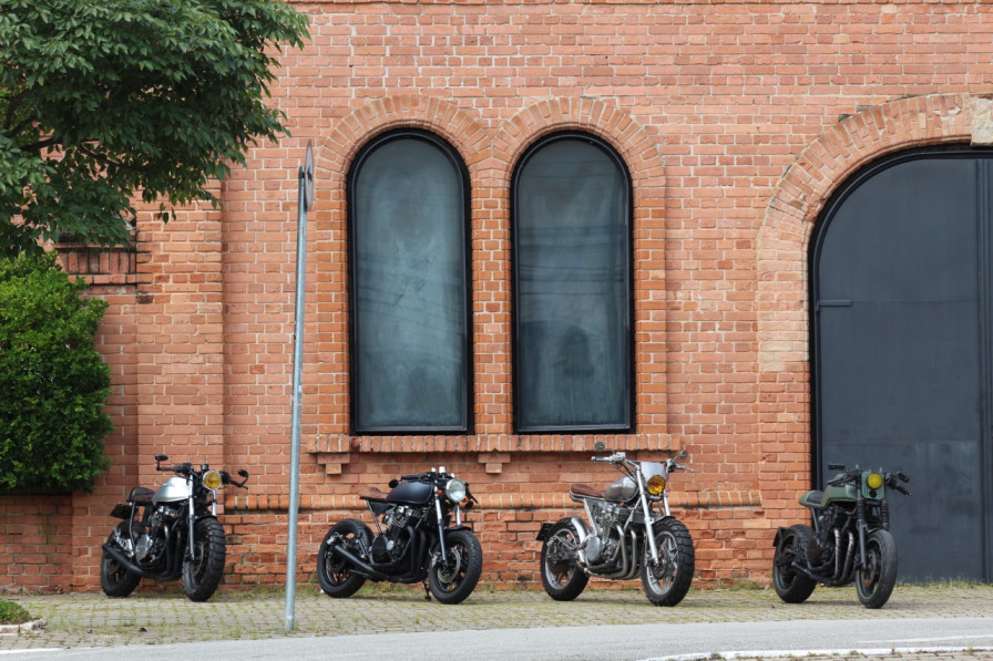 Honda CBX750F Customs