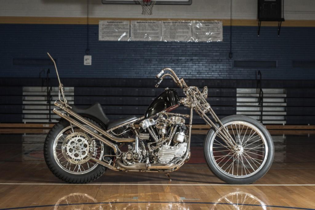 Harley Knucklhead Chopper
