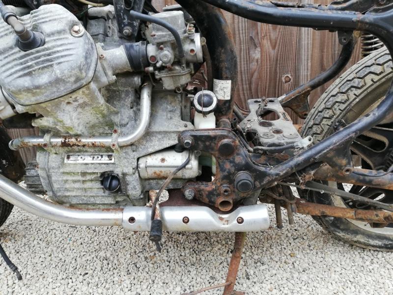 Honda CX400 Scrambler