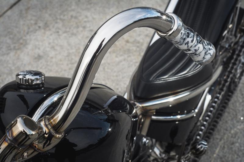 Harley Knucklehead Chopper