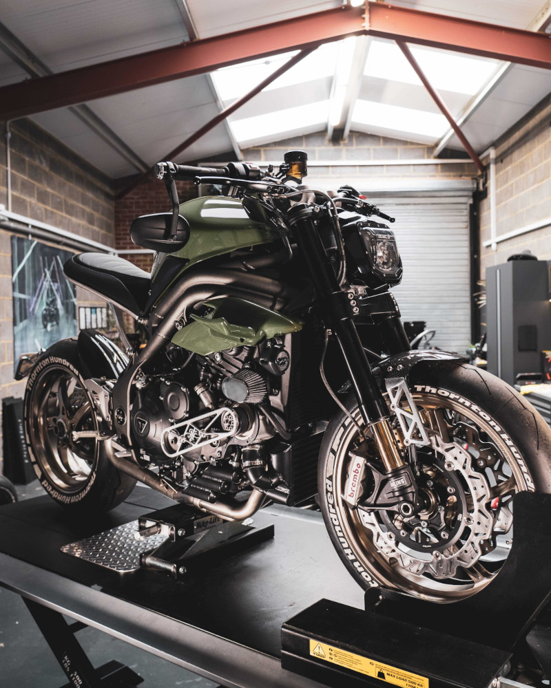 Supercharged Speed Triple