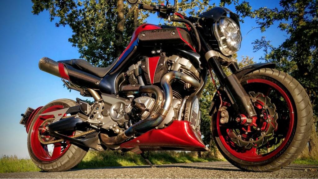 Yamaha MT-01 Stage 2 Custom