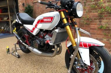 Yamaha RD350LC restomod