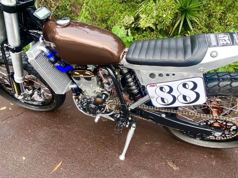 Yamaha WR450 Street Tracker
