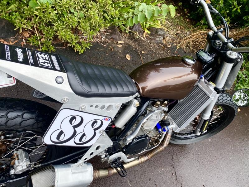 WR450 Street Tracker