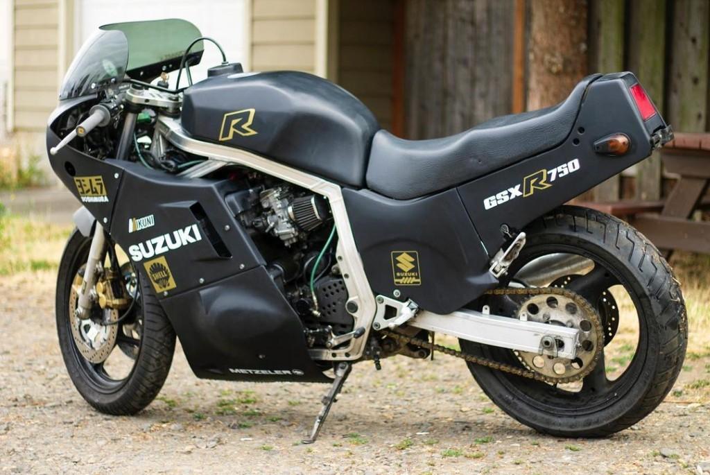 Suzuki GSXR750 Custom